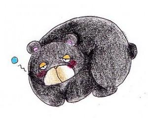 クマの冬眠